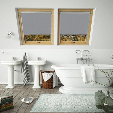 Waterproof Grey Skylight Blind For Fakro Windows