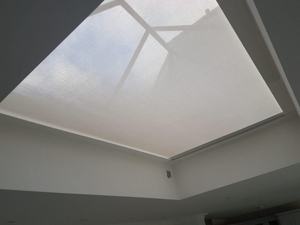 LanternLITE™ Zip roof lantern blind