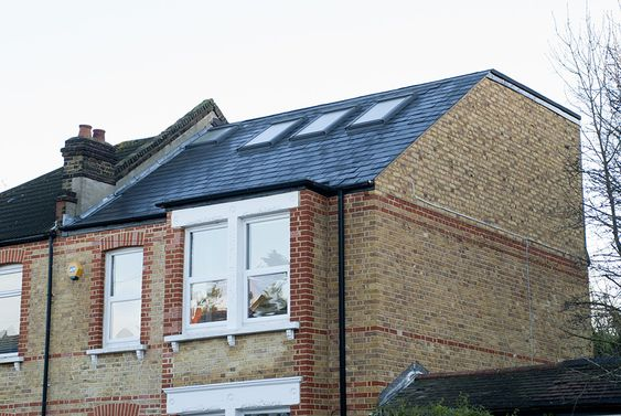 An image showing a hip-to-gable loft conversion example