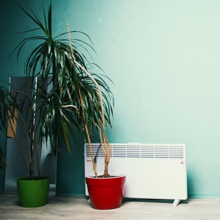 An image showing a plug in portable heater for loft conversion rooms