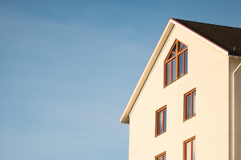 Windows on a tall house and a loft conversion