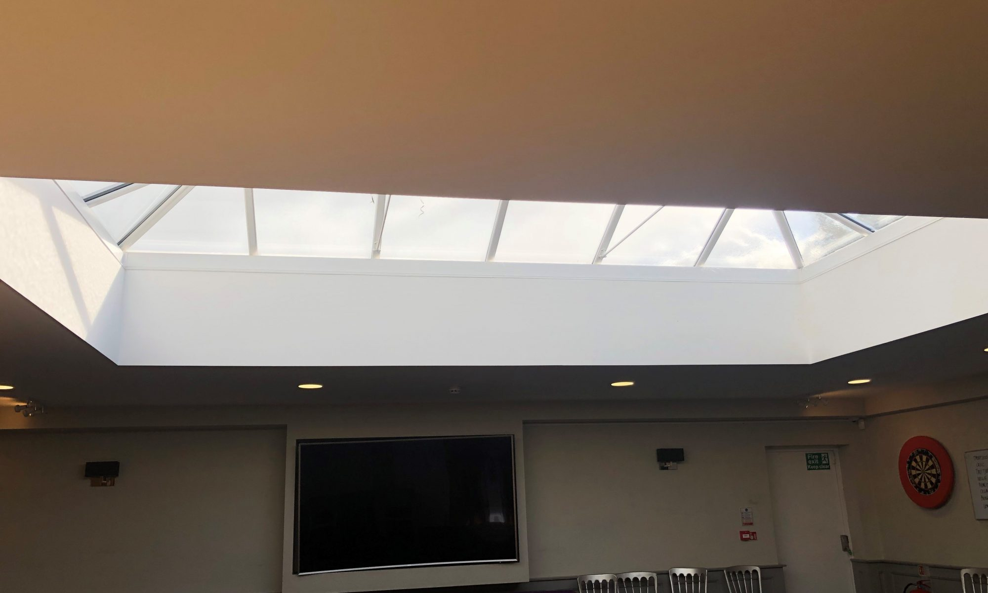 What blind should I put on my roof lantern window?
